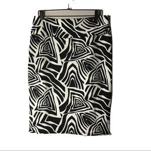 Lularoe Cassie Skirt black and white 2XL NWT